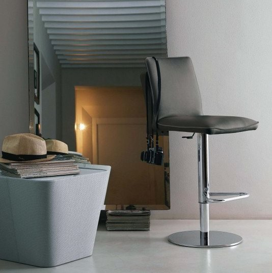 Nata Bar Stool from Bontempi, designed by  R&D Bontempi Casa