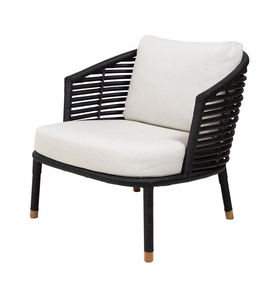 Sense Lounge Chair from Cane-line, designed by Foersom & Hiort-Lorenzen MDD