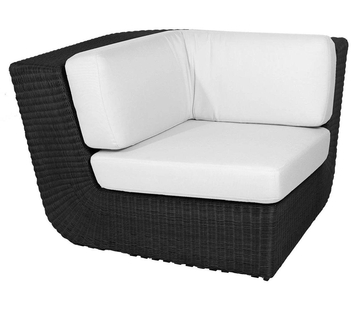 Savannah Corner Module Sofa modular from Cane-line, designed by Foersom & Hiort-Lorenzen MDD