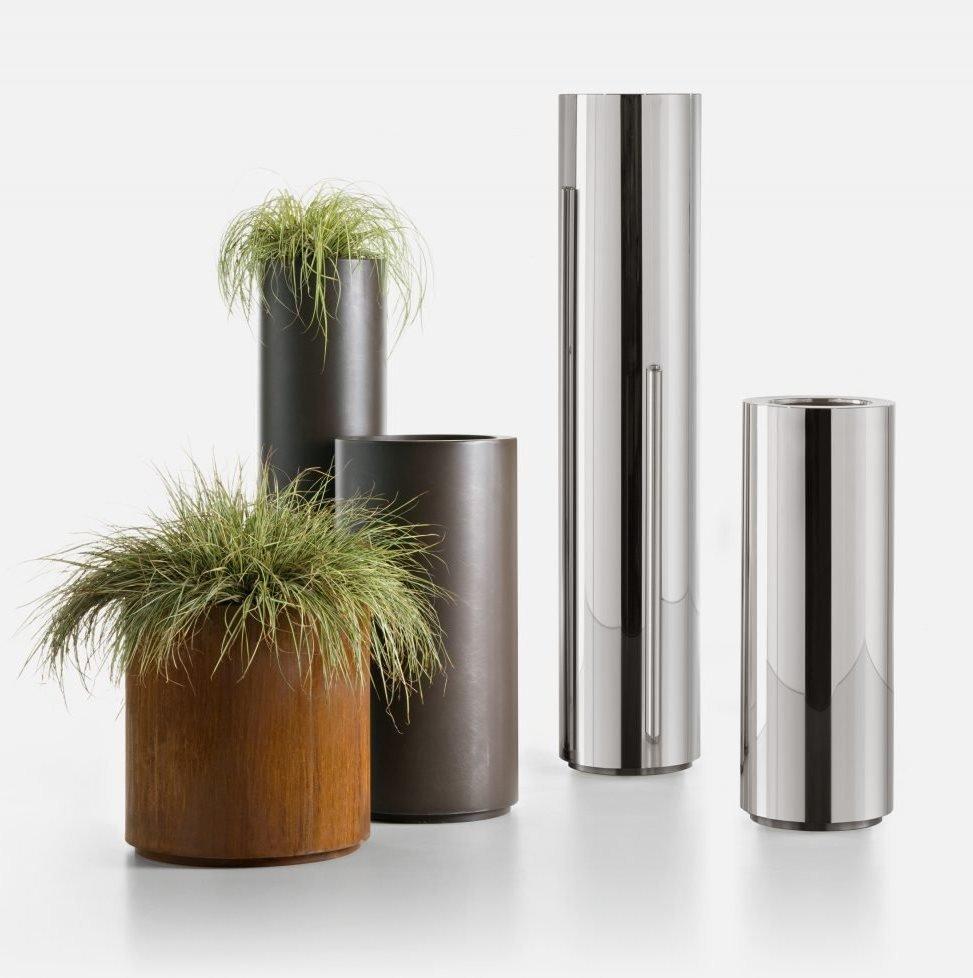 Cohiba Pot planter from De Castelli, designed by R&D De Castelli