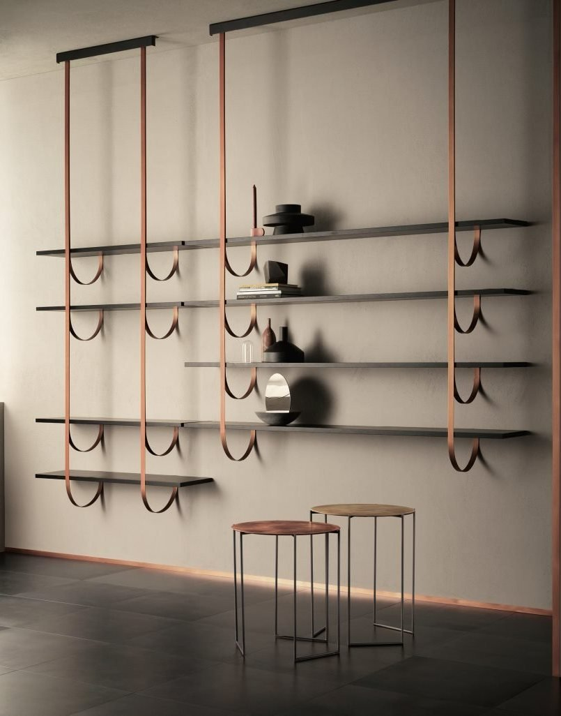 Talea Bookcase from De Castelli, designed by Lucidipevere