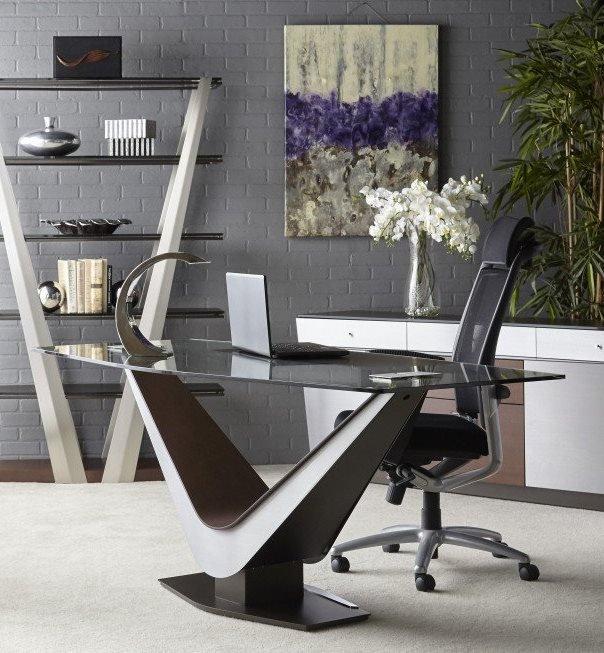 Victor Desk from Elite Modern, designed by Carl Muller