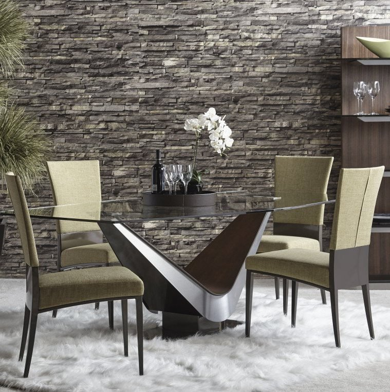 Victor Table dining from Elite Modern, designed by Carl Muller