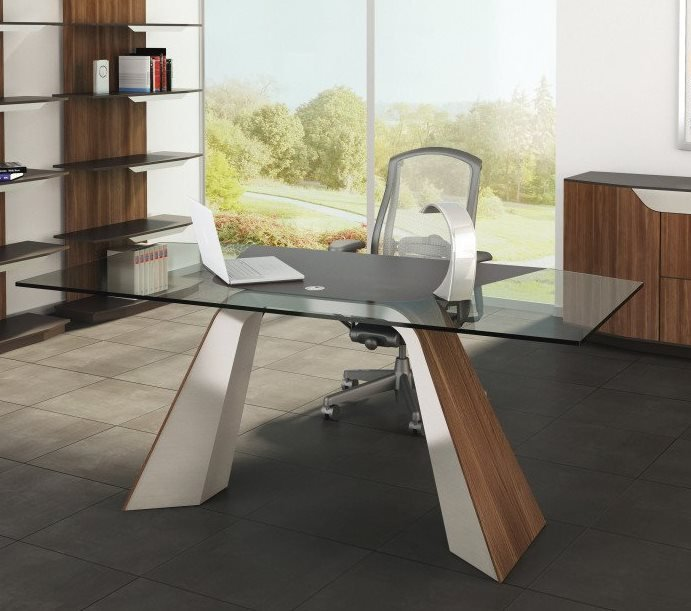 Haven Desk from Elite Modern, designed by Carl Muller