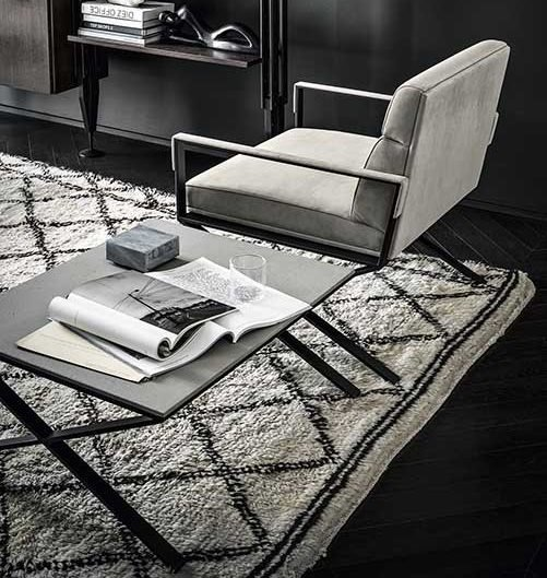 Sahrai Coffee Table from Frag, designed by Christophe Pillet