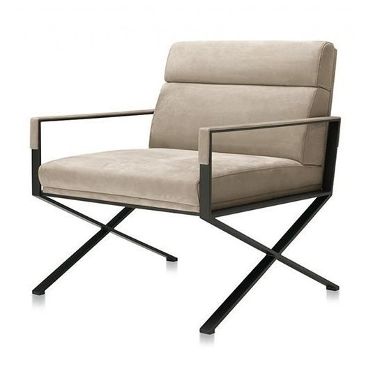 Sahrai L Lounge Chair from Frag, designed by Christophe Pillet