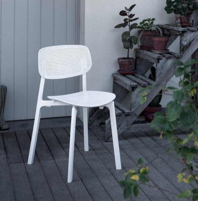 Colander Chair from Kristalia, designed by Patrick Norguet