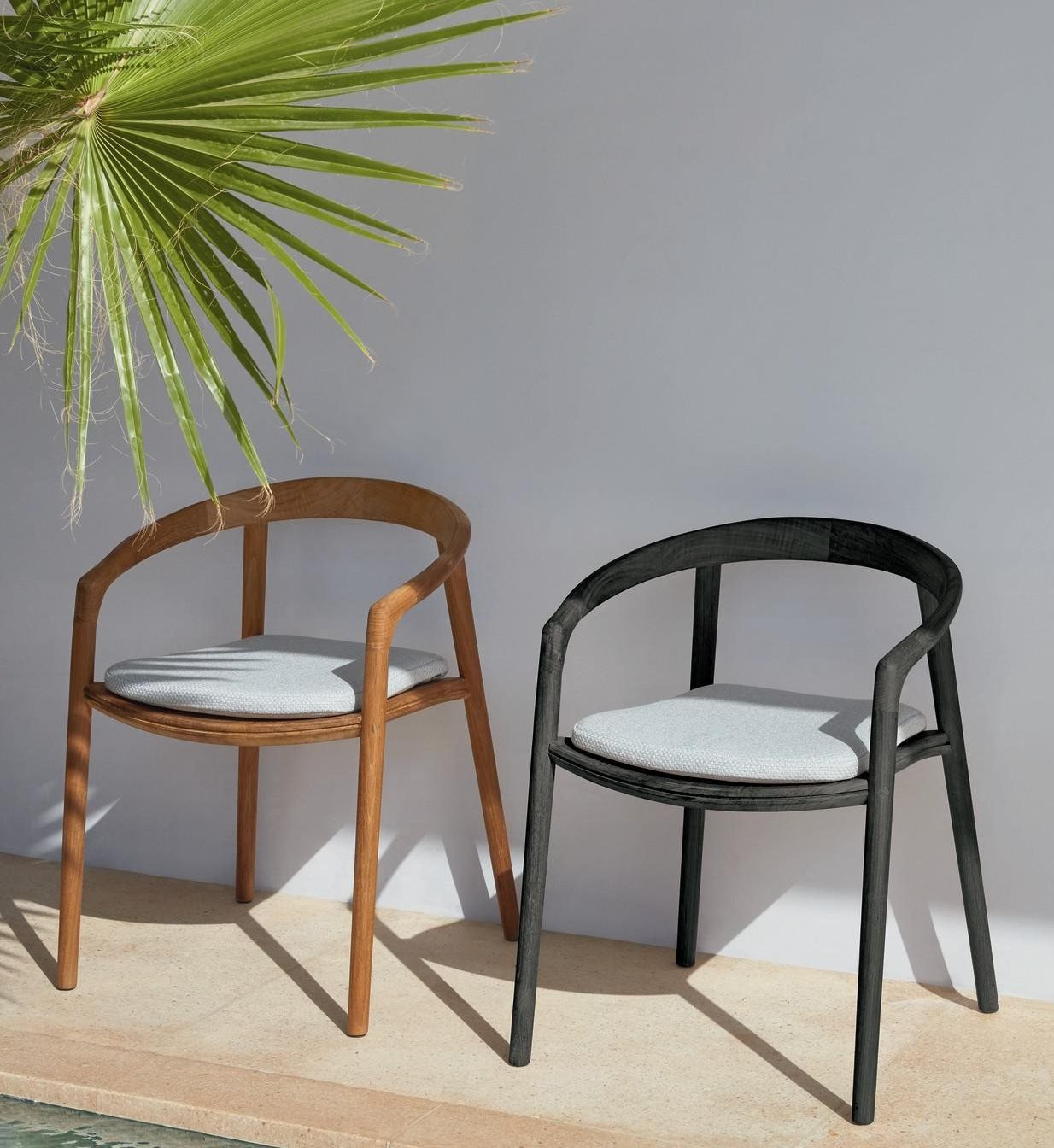 Solid Dining Chair from Manutti, designed by Lionel Doyen