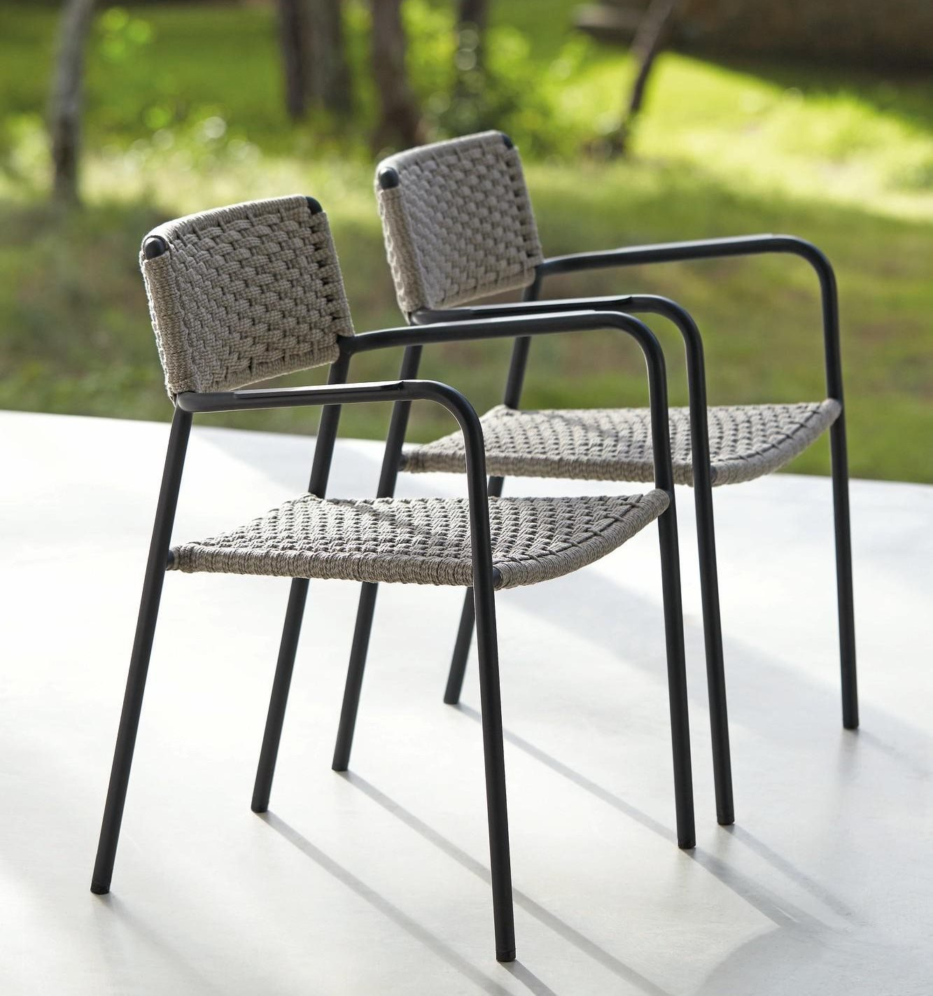 Echo Dining Chair from Manutti, designed by Stephane De Winter