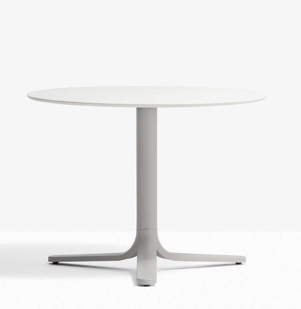 Fluxo Base Tables coffee from Pedrali, designed by Luca Casini