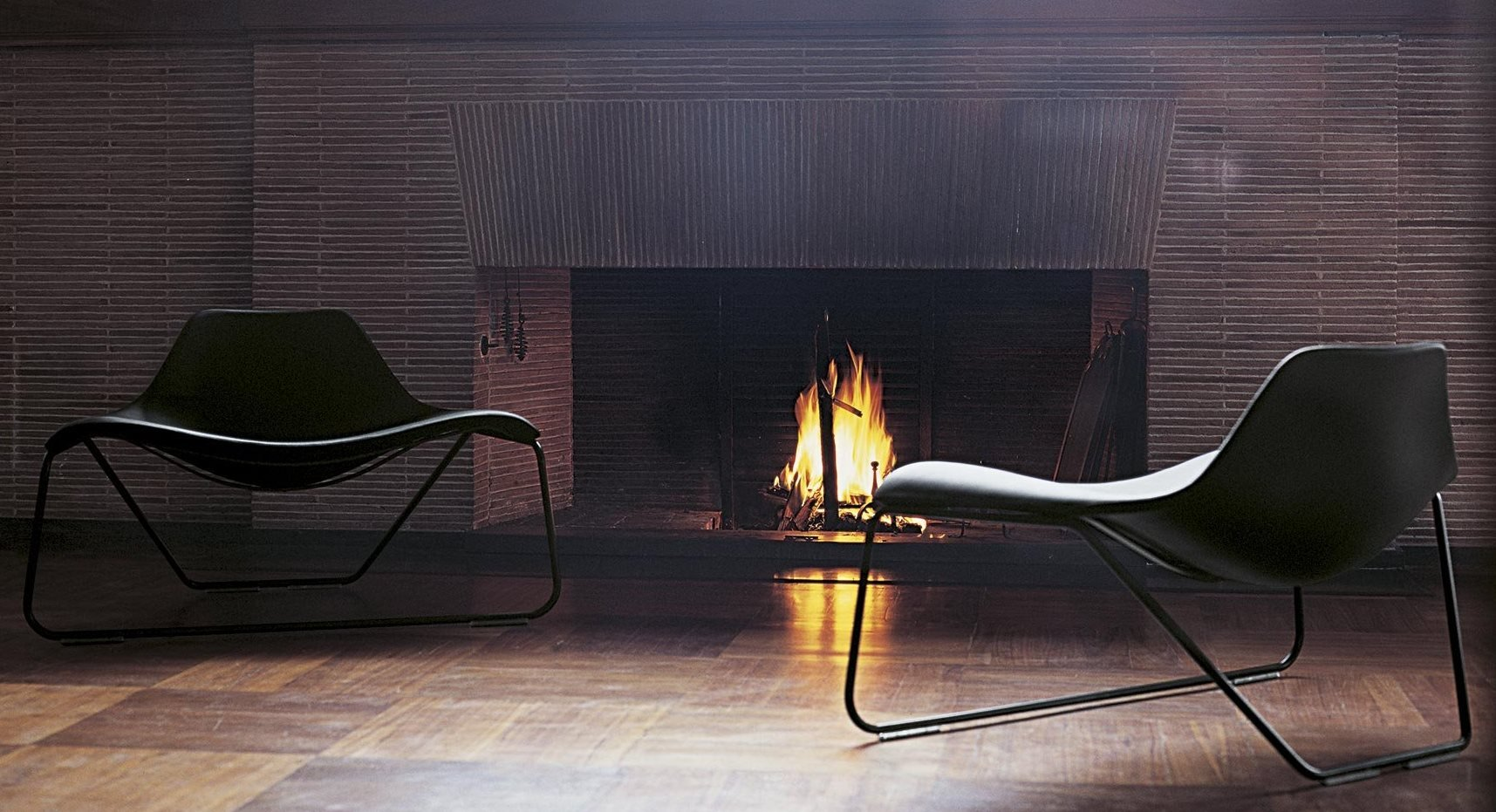 Glide Chair lounge from Tacchini, designed by Monica Förster