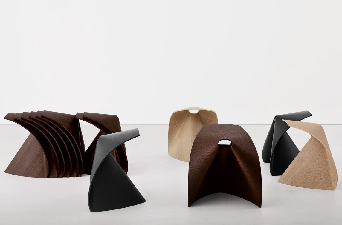Ap Low Stool chair from lapalma, designed by Shin Azumi