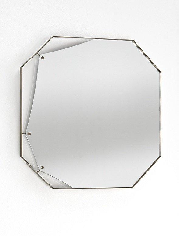 Pinch Mirror accessory from Fiam, designed by Lanzavecchia + Wai