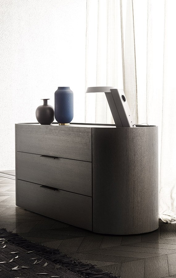 Dedalo Stackable Drawer dresser from Pianca, designed by Pianca Studio