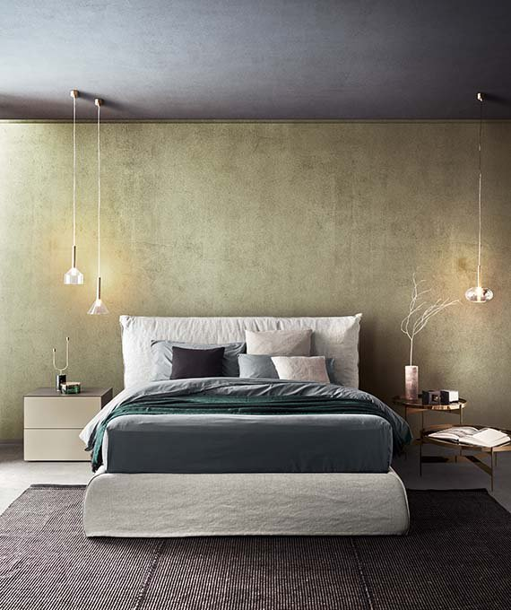 Piumotto Bed from Pianca, designed by Andrea Castrignano