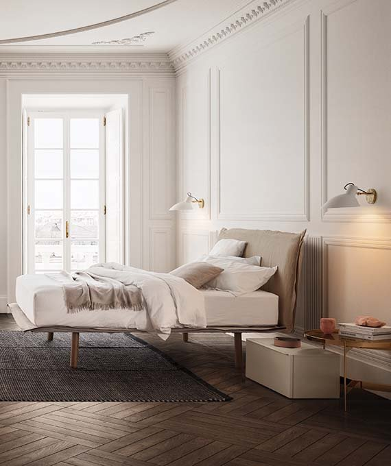 Aladino Bed from Pianca, designed by Pianca Studio