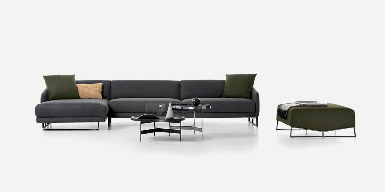 Asolo Sofa modular from Pianca, designed by Emilio Nanni