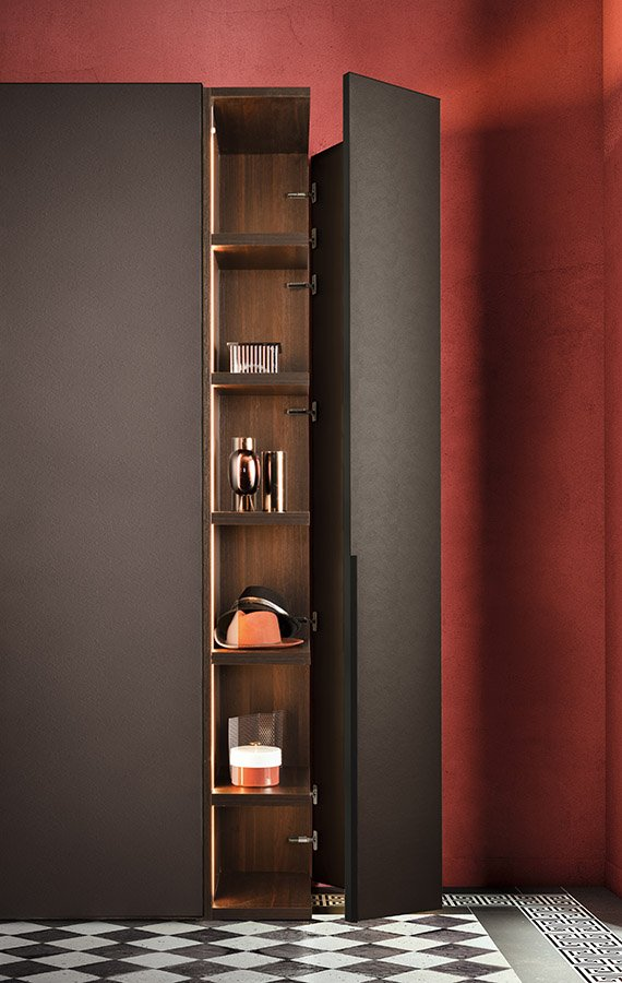 Cornice Wardrobe from Pianca, designed by Pianca Studio