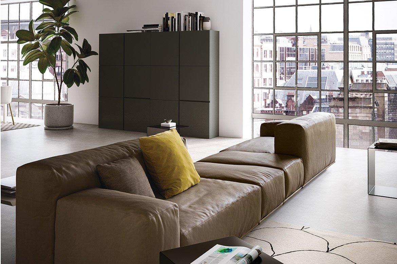 Delano Sofa modular from Pianca, designed by Pianca Studio