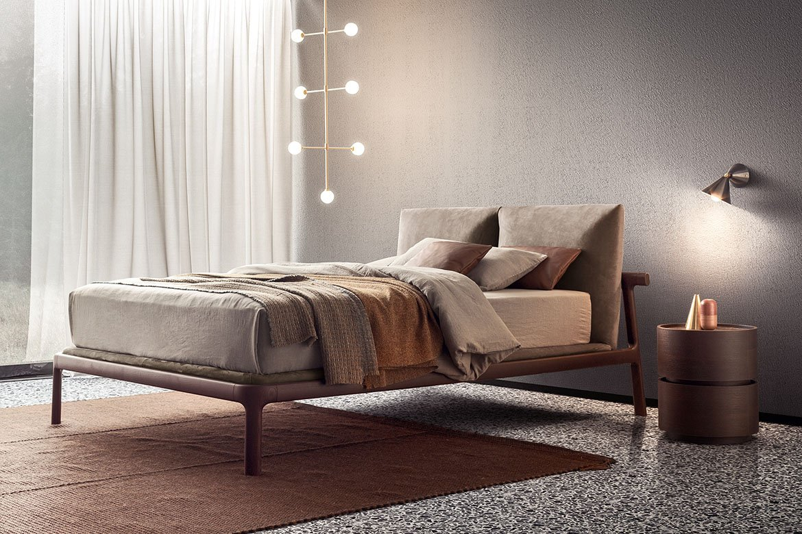 Fushimi Bed from Pianca, designed by Philippe Tabet