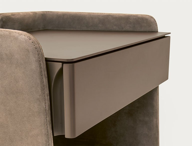 Chloé End Table chest from Pianca, designed by Emmanuel Gallina