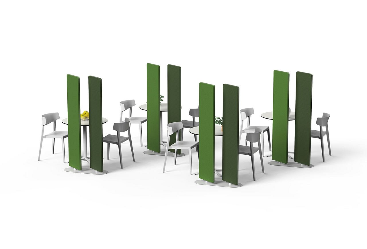 360 Office Divider screen from Actiu