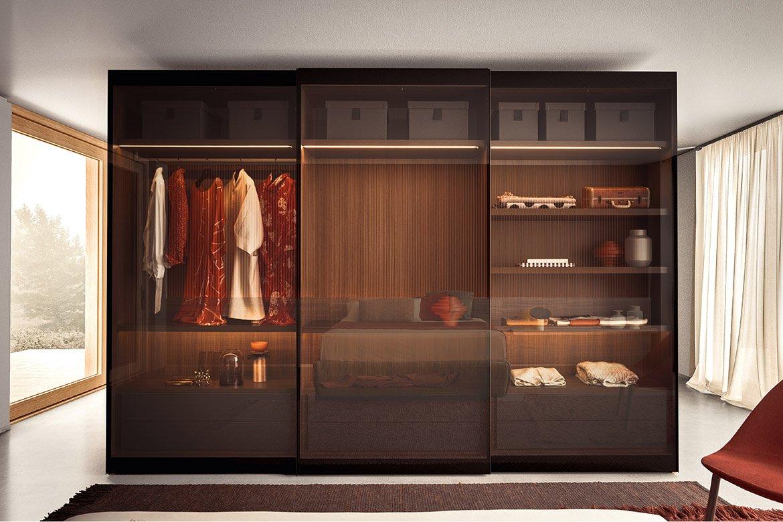 Vitrum Wardrobe from Pianca, designed by Pianca Studio