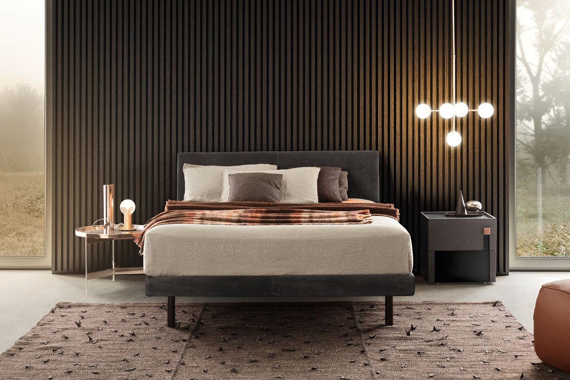Beta Bed from Pianca, designed by Pianca Studio