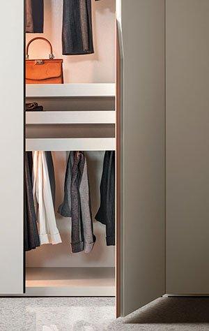 Manhattan Wardrobe from Pianca, designed by Pianca Studio