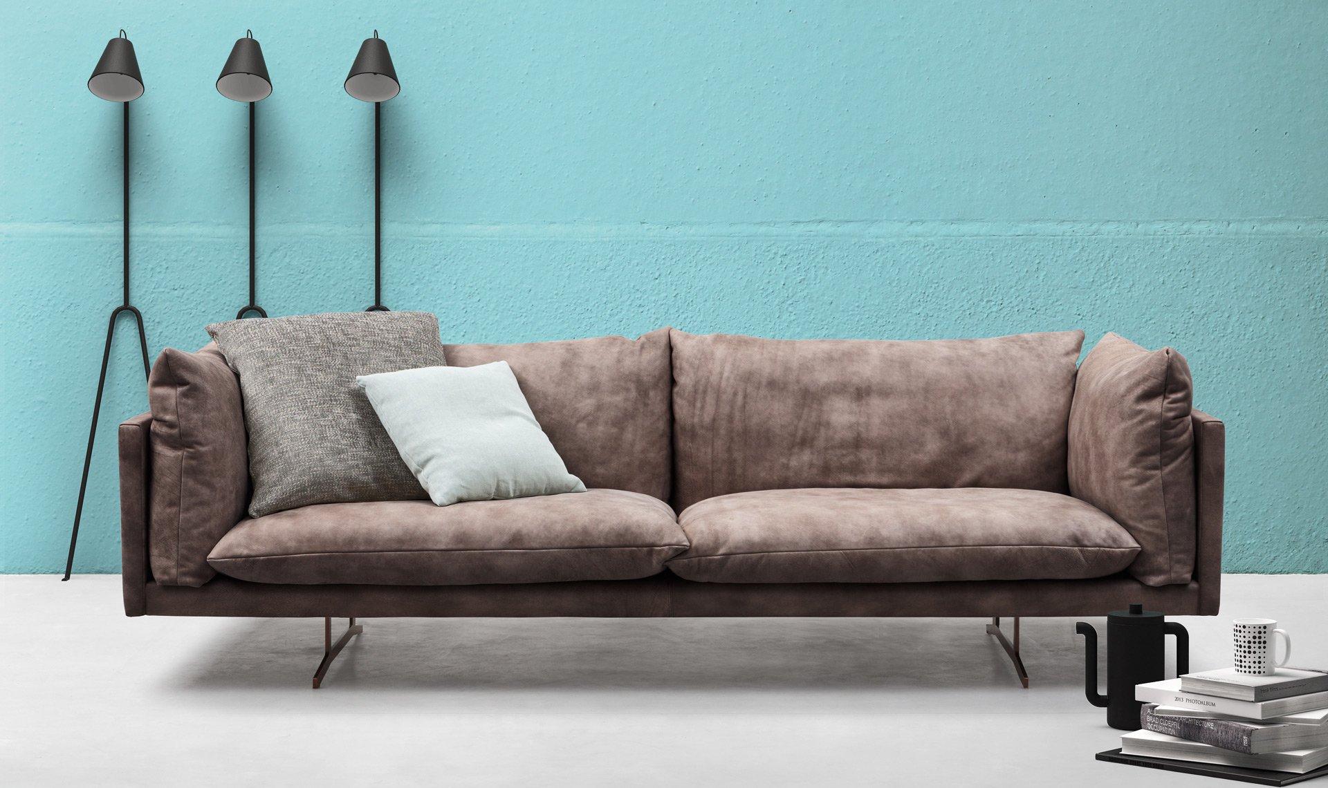 Oslo Sofa from Alf Dafre, designed by Enrico Cesana