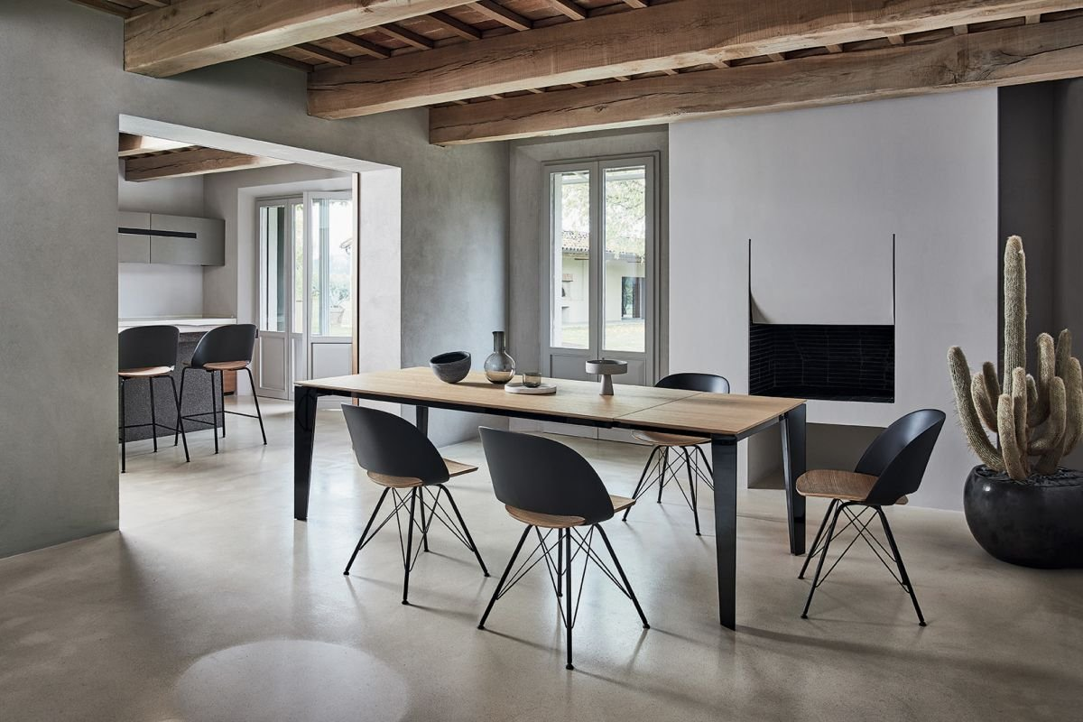 Polo Chair from Bontempi, designed by  R&D Bontempi Casa