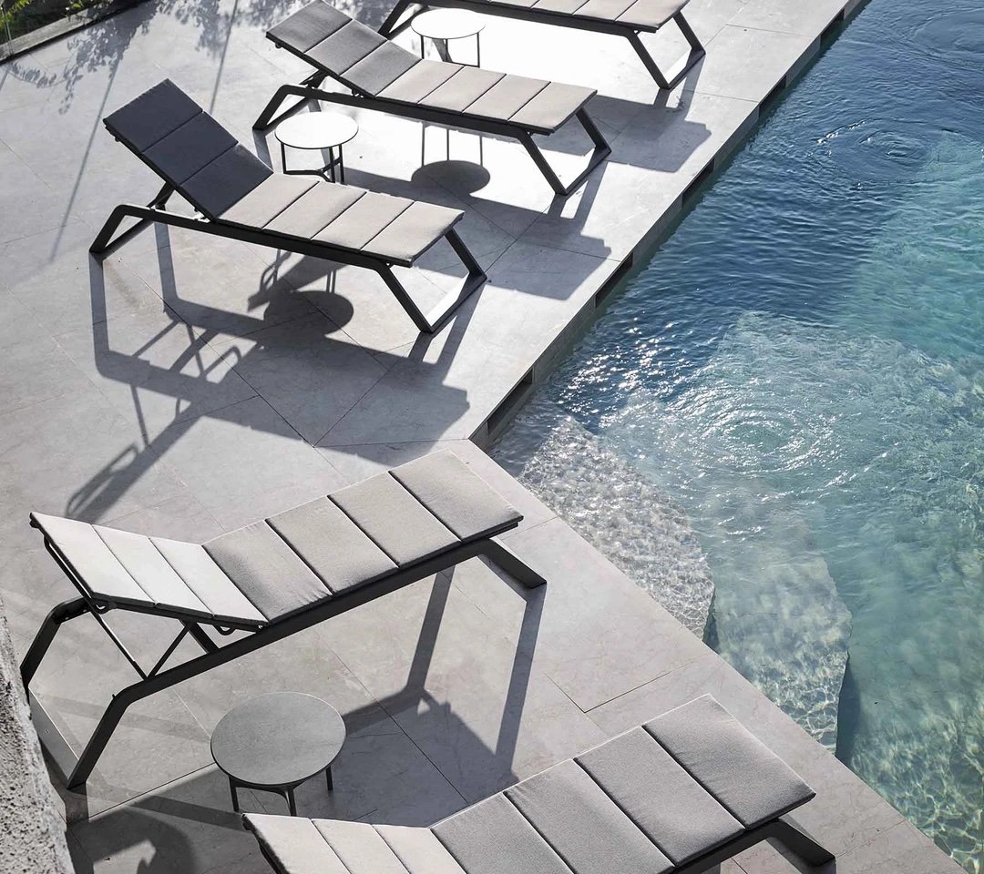 Siesta Sunbed from Cane-line, designed by Cane-line Design Team