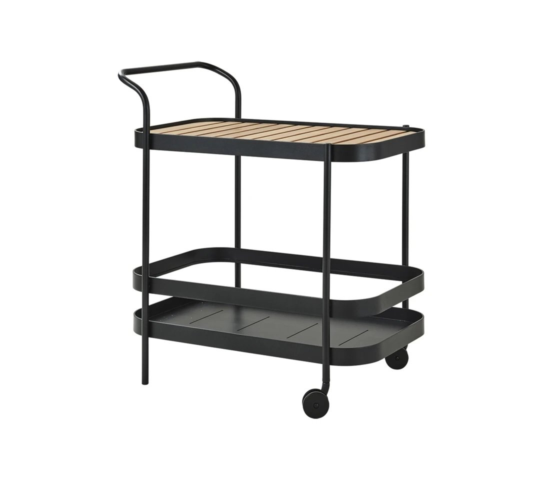 Roll Bar Trolley  from Cane-line, designed by Welling/Ludvik