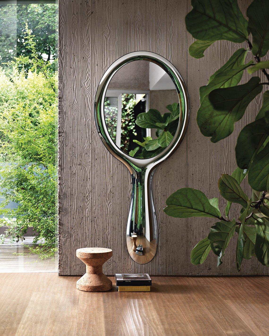 Lollipop Mirror from Fiam, designed by Marcel Wanders