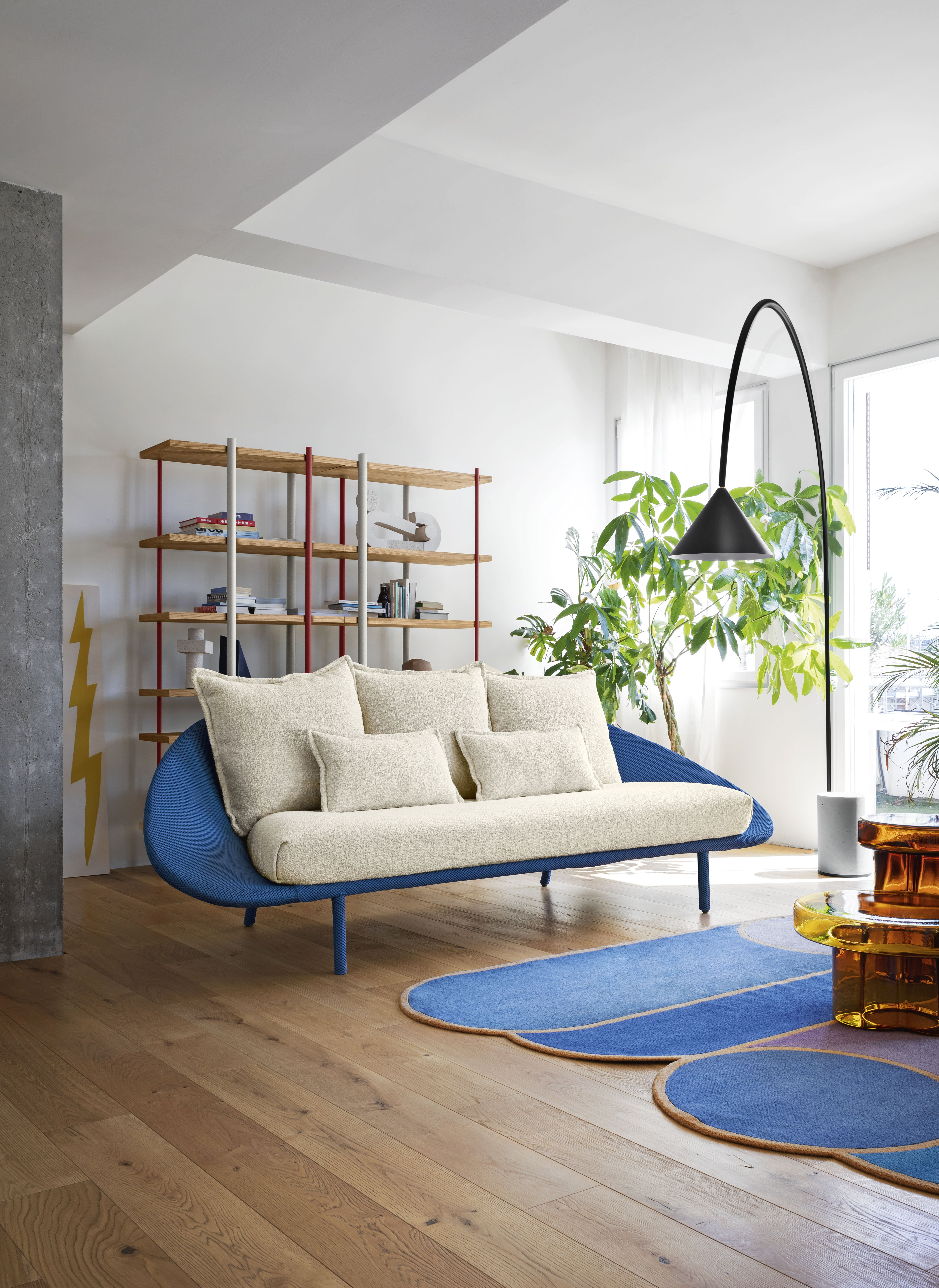 Lem Sofa from Miniforms, designed by Francesco Beghetto