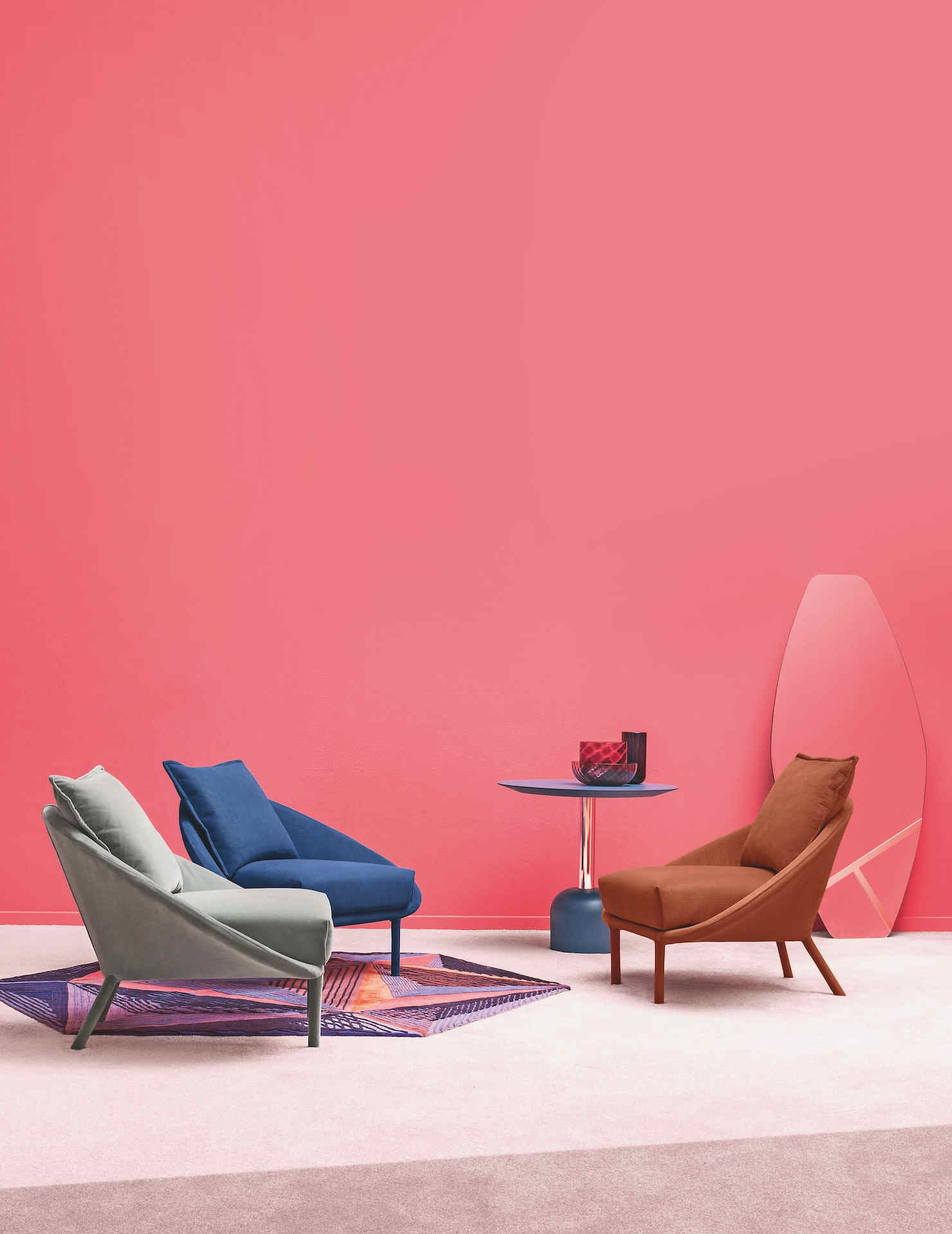 Lem Armchair lounge from Miniforms, designed by Francesco Beghetto