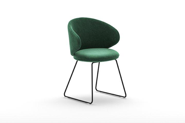 Belle SL/NS Sled Armchair from Arrmet, designed by Arrmet Lab