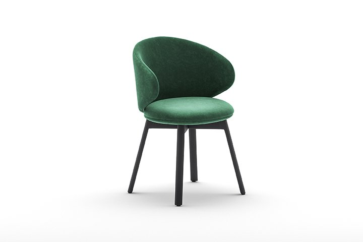 Belle 4WL Armchair from Arrmet, designed by Arrmet Lab