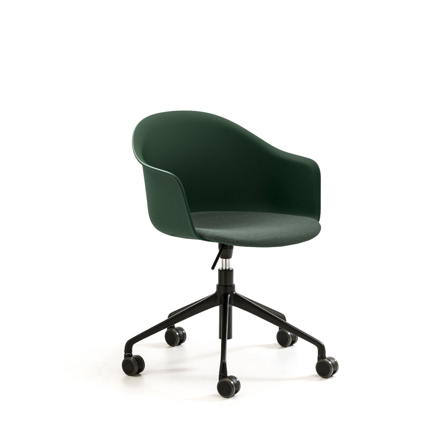 Mani Armshell HO Swivel Armchair office from Arrmet, designed by Welling/Ludvik