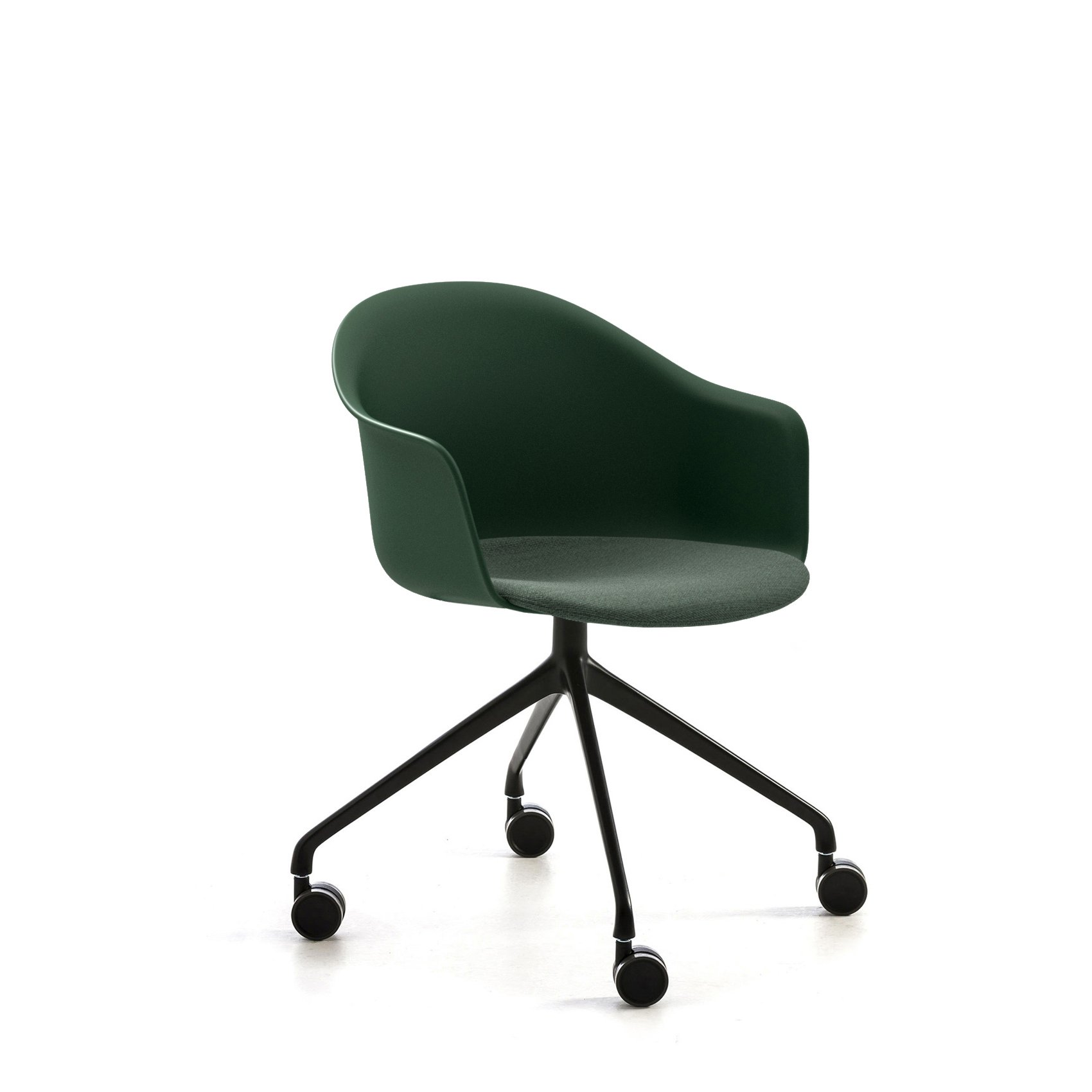 Mani Armshell HO/4 Swivel Armchair office from Arrmet, designed by Welling/Ludvik