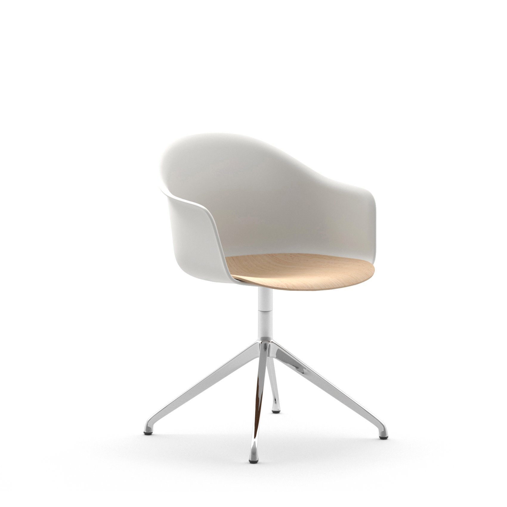 Mani Armshell SP Swivel Armchair office from Arrmet, designed by Welling/Ludvik