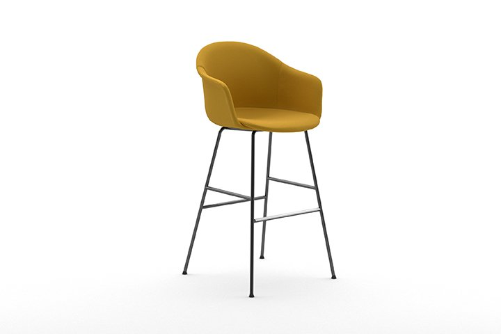 Mani Armshell ST-4L/ns Stool from Arrmet, designed by Welling/Ludvik