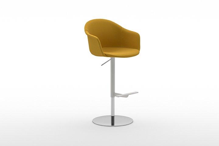 Mani Armshell ST-ADJ Stool from Arrmet, designed by Welling/Ludvik
