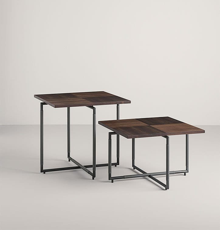 Bak CT H End Table from Frag, designed by Ferruccio Laviani