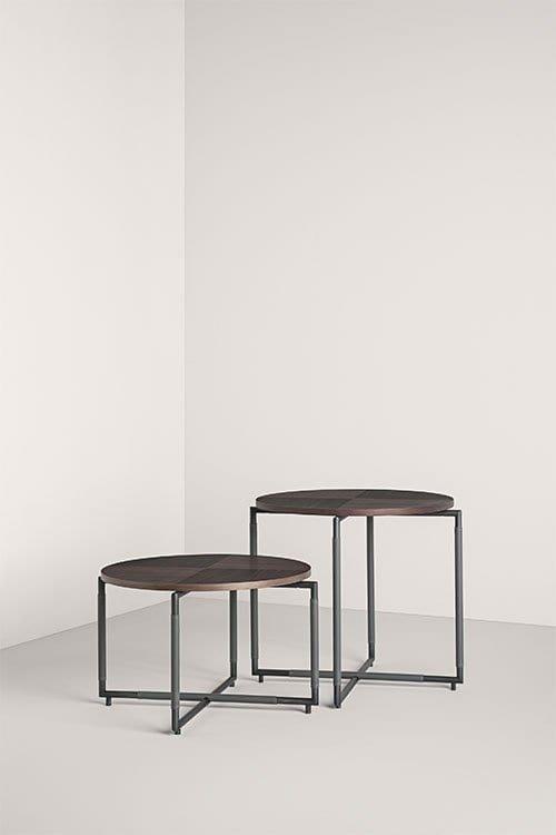 Bak CT O End Table from Frag, designed by Ferruccio Laviani