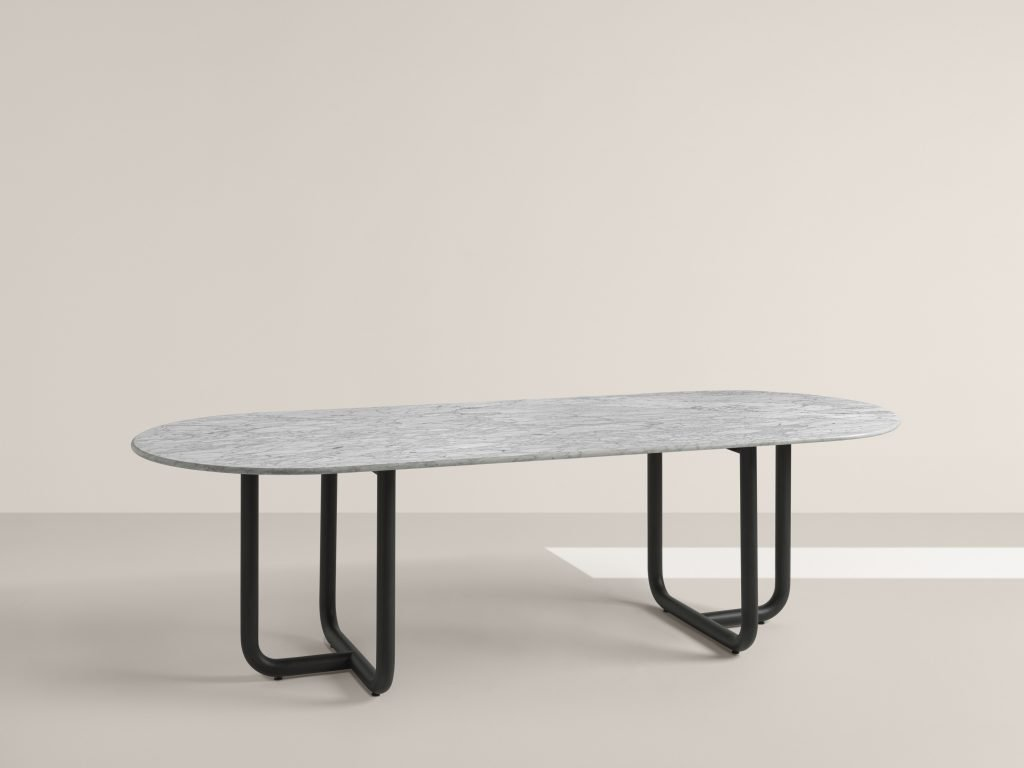 Paipu 240 Dining Table from Frag, designed by Dainelli Studio