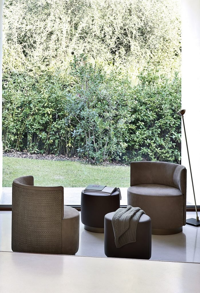 Clubby Pouf from Frag, designed by Christophe Pillet