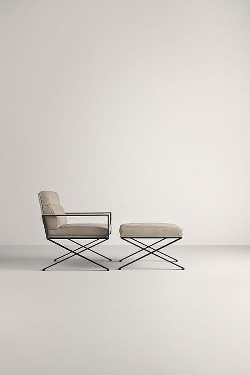Sahrai Pouf from Frag, designed by Christophe Pillet