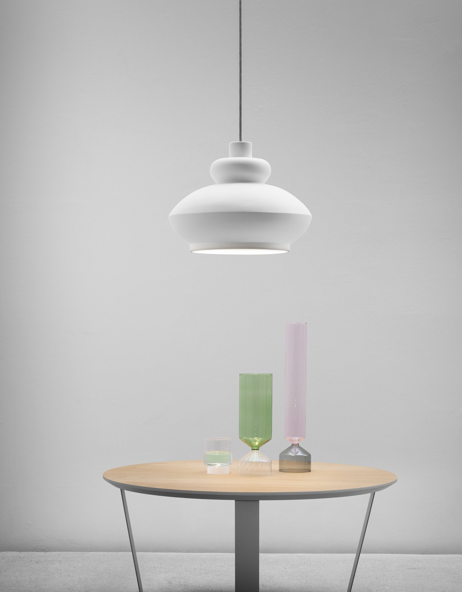 Tora Pendant Lamp  lighting from Miniforms, designed by Paolo Cappello