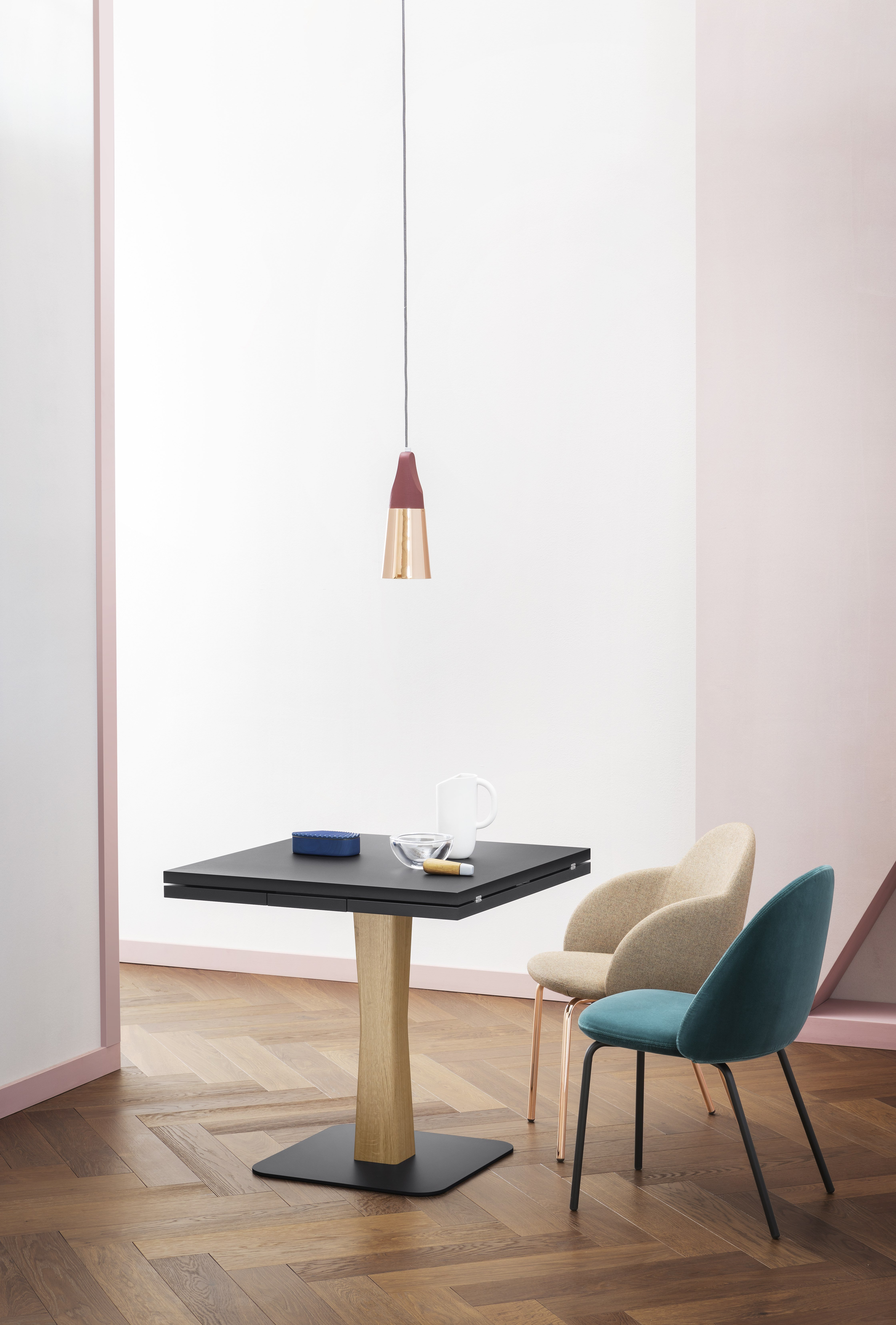 Gualtiero Table dining from Miniforms, designed by Paolo Cappello
